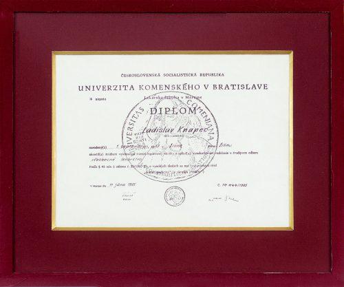 Diplom UK Bratislava